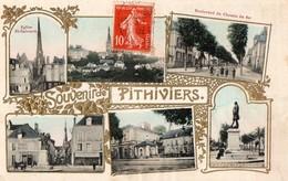 CPA -  45 - SOUVENIR DE PITHIVIERS - Multivues - Pithiviers