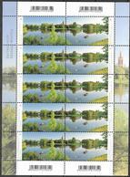 2018 Allem. Fed. Deutschland  Mi. 3401-2 **MNH Gartenreich Dessau-Wörlitz: Wörlitzer See Mit Synagoge, Kirche St. Petri - Nuevos