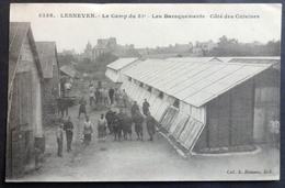 CPA 29 LESNEVEN - Le Camp Du 51ème - Les Baraquements Du Côté Des Cuisines - Hamonic 5338 - Réf. N 91 - Lesneven