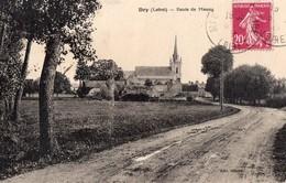 CPA - 45 - DRY -  Route De Meung - France