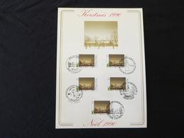 """BELG.1990 2392 FDC Filatelic Card : """" Kerstmis / Noél ) - FDC"""