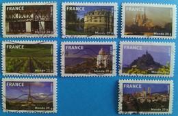 France 2009 : La France En Timbres N° 329 à 336 Oblitéré - Frankreich