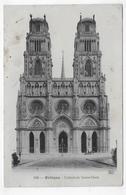 (RECTO / VERSO) ORLEANS EN1907 - N° 100 - CATHEDRALE SAINTE CROIX - Ed. Théodule Garnon Th.G - BEAU CACHET - CPA VOYAGEE - Orleans