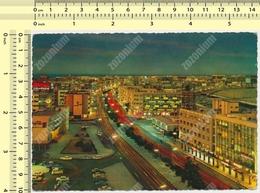 Kuwait Night Aerial View Fahd Al Salem Street Nice Bird Stamp1970s Par Avion Postcard Carte Postale Ppc - Koweït