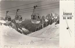 CHAMONIX - TELECABINE Et TELESKI De LA VALLEE BLANCHE -  LA MER DE GLACE-LES DRUS  Edition : LE MOULT De Charenton  N°65 - Chamonix-Mont-Blanc