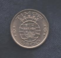TIMOR  - 5 ESCUDOS 1970 - Timor