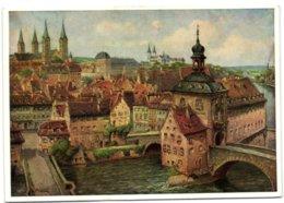Bamberg Altstadt - Nach Einem Originalgemälde Von Ludwig Mössler - Bamberg