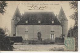 Corréze Chateau De La Nauche Prés Vigeois Facade Principale - Argentat