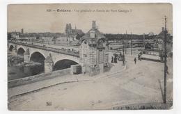(RECTO / VERSO) ORLEANS - N° 826 - ENTREE DU PONT GEORGES V AVEC TRAMWAY - Ed. Théodule Garnon Th.G - CPA - Orleans