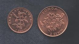 TONGA - 1 + 2 SENITI - Tonga