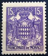 MONACO                   N° 158 A                    NEUF* - Unused Stamps