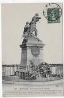 (RECTO / VERSO) ORLEANS EN 1911 - N° 565 - MONUMENT DE LA DEFENSE - Ed. Théodule Garnon Th.G - BEAU CACHET - CPA - Orleans