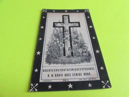DOODSPRENTJE  BERNARDINA  VAN DEN BOSCH - Images Religieuses