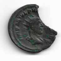 Antoninien De Philippe L'Arabe Avec Cassure Revers Annone - 5. La Crisis Militar (235 / 284)