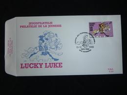 """BELG.1990 2390 FDC ( Antwerpen ) : """" Lucky Luck """" - FDC"""
