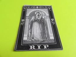 DOODSPRENTJE  ANNA MARIA CAROLINA  VAN VAERENBERGH - Images Religieuses