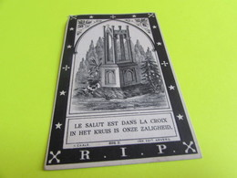 DOODSPRENTJE  ROSALIA  VAN VAERENBERGH - Images Religieuses
