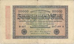 Billet De 20000 Marks Allemagne 20/09/1923 - [ 3] 1918-1933 : República De Weimar