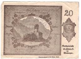 Österreich Austria Notgeld 20 HELLER FS914I ST.NIKOLA /172M/ - Autriche