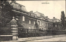 Cp Ghistelle Gistel Westflandern, Straßenpartie, Gebäude - Belgique