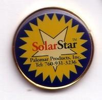 T40 Pin's SOLAR STAR Palomar Products SPACE Espace Aérospatiale à Rancho Santa Margarita USA Achat Immédiat - Espace