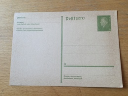 K2 Deutsches Reich Ganzsache Stationery Entier Postal P 199I - Germania