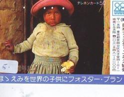 Telecarte Japan * BOLIVIA Reliée (5) Telefonkarte BOLIVIA Verbunden - Phonecard BOLIVIA Related - - Paysages