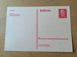 K2 Deutsches Reich Ganzsache Stationery Entier Postal P 182I - Germania