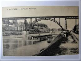 FRANCE - MAYENNE - MAYENNE - Le Viaduc Métallique - 1908 - Mayenne