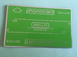 SPAIN / PORTUGAL Landis & Gyr MINT Service Card - Portugal