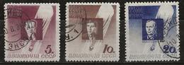 Russie 1934 N° Y&T : PA. 46 à 48 Obl. - 1923-1991 UdSSR