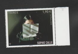"""FRANCE / 2018 / Y&T N° 5272 ** : """"Prenez Soin De Vous"""" (Sophie Calle) X 1 BdF D - France"""