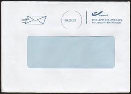 Belgien 2019 Brief/ Letter Nach Deutschland,  Maschinenstempel - Franking Machines