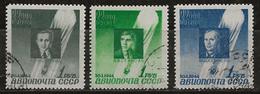 Russie 1944 N° Y&T : PA. 67 à 69 Obl. - 1923-1991 UdSSR