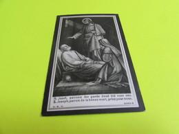 DOODSPRENTJE   FERDI  VAN DEN AVOND - Images Religieuses