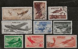 Russie 1945-1946 N° Y&T : PA. 72 à 89 Obl. - 1923-1991 UdSSR