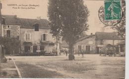 LIGUEUX Par Sorges Place Du Champ De Foire ( Trés Belle Animation ) - Other Municipalities