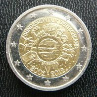Germany - Allemagne - Duitsland   2 EURO 2012 G  10 Years Euro      Speciale Uitgave - Commemorative - Germany