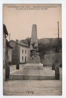 - CPA SAINT-JULIEN-LA-VÊTRE (42) - Monument Aux Morts De La Grande Guerre 1914-1918 - Cliché Jousse - - France