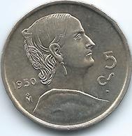 Mexico - 5 Centavos - 1950 Mo - KM425 - Mexico