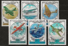 Russie 1978 N° Y&T : PA. 132 à 137 Obl. - 1923-1991 UdSSR