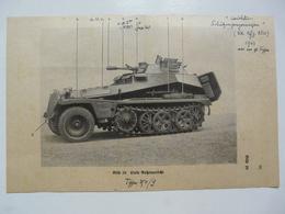 """MILITARIA - ILLUSTRATIONS """" LEICHTER SCHÜTZENPANZERWAGEN"""" 1943 - Véhicules"""