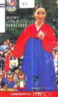 Telecarte Japan * KOREA Reliée (46) KOREA  Verbunden - KOREA  Related - Phonecard - Paysages