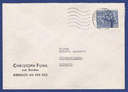 Einzelfrankatur MiNr. 384 (aa0387) - Storia Postale