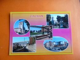 """Dep 94 Cachan Dives Aspects De La Ville """" Multivues 5' Habitants Les Cachanais  '   ( NEUVE ) Edit Raymon  94.615 - Cachan"""