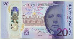 Scotland 20 Pounds 2019 UNC P- NEW < Bank Of Scotland > Polymer - 20 Pounds