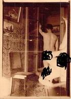 PHOTO HOMME NU DE DOS  ET FEMME NUE EN SURIMPRESSION 1932 - Artistic Nudes (1960-…)
