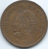 Mexico - 50 Centavos - 1956 Mo - KM450 - AUNC - Mexico