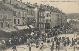 BACCARAT Rue Des Ponts.Concours De Pêche En 1905 - Baccarat