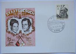 Deutschland Schweden, Königin Silvia, Staatsbesuch 1979  - [7] Federal Republic